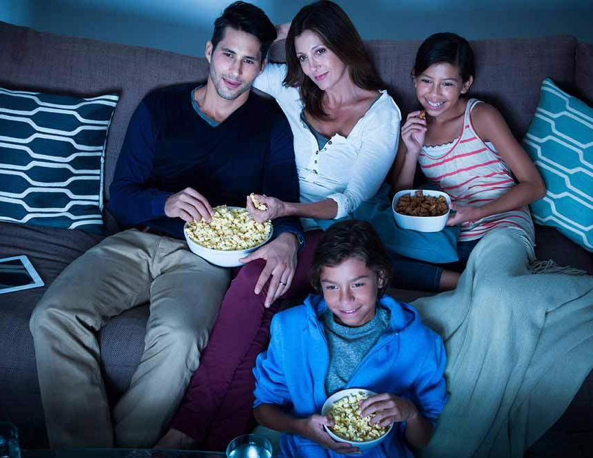 Image result for Movie Night family